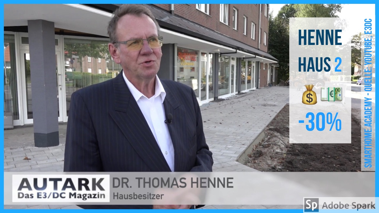 Henne-Haus 2. Nebenkosten 30% runter für alle.