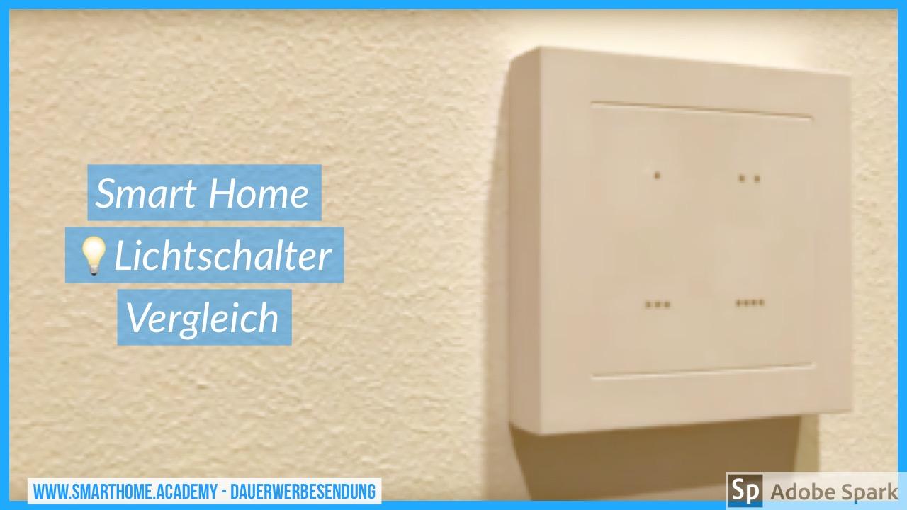 Smart Home Lichtschalter – Vergleich