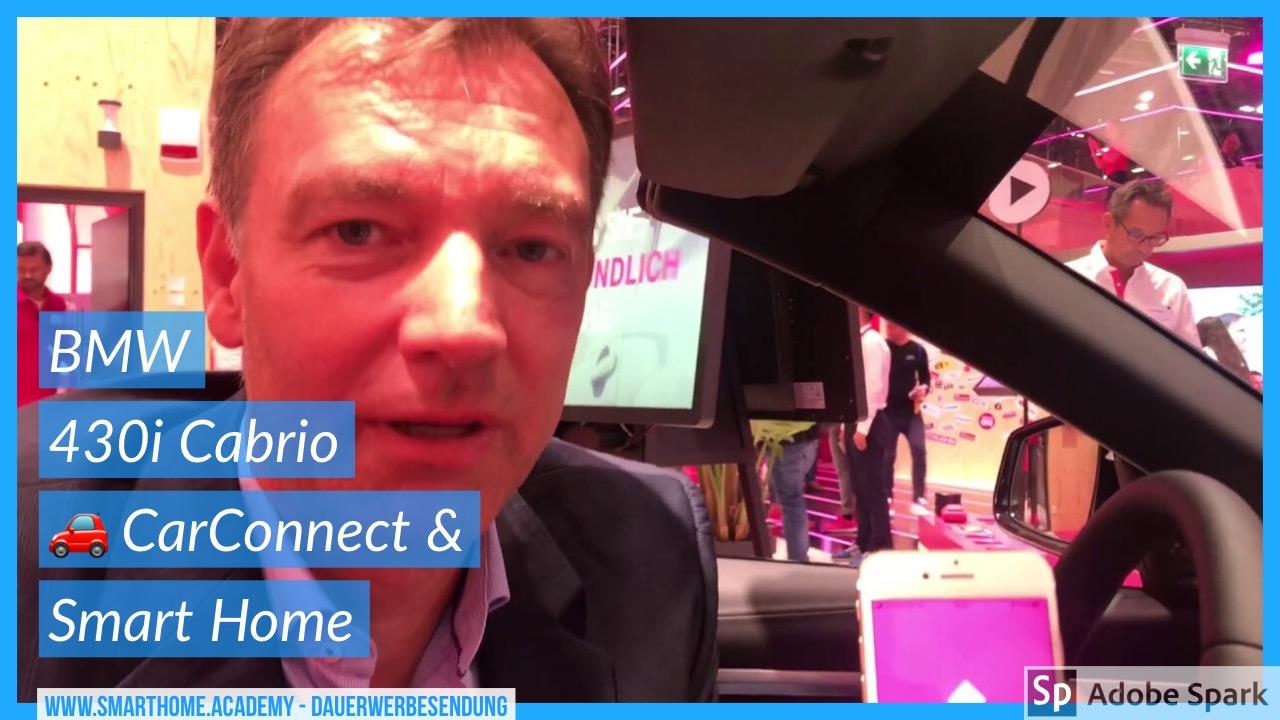 Telekom CarConnect Adapter steuert Smart Home