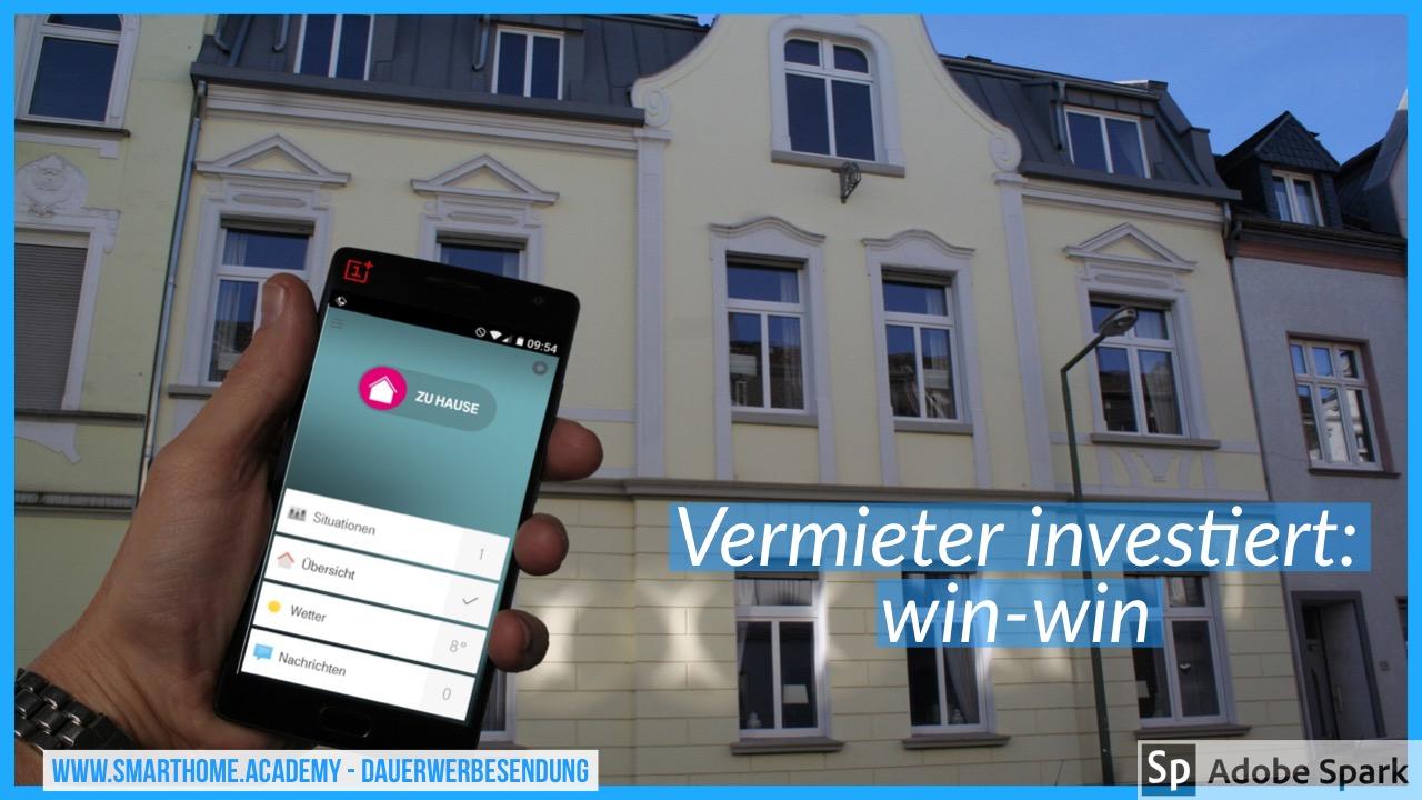 Neu: Smart Home in der Mietwohnung – Duisburg Homberg