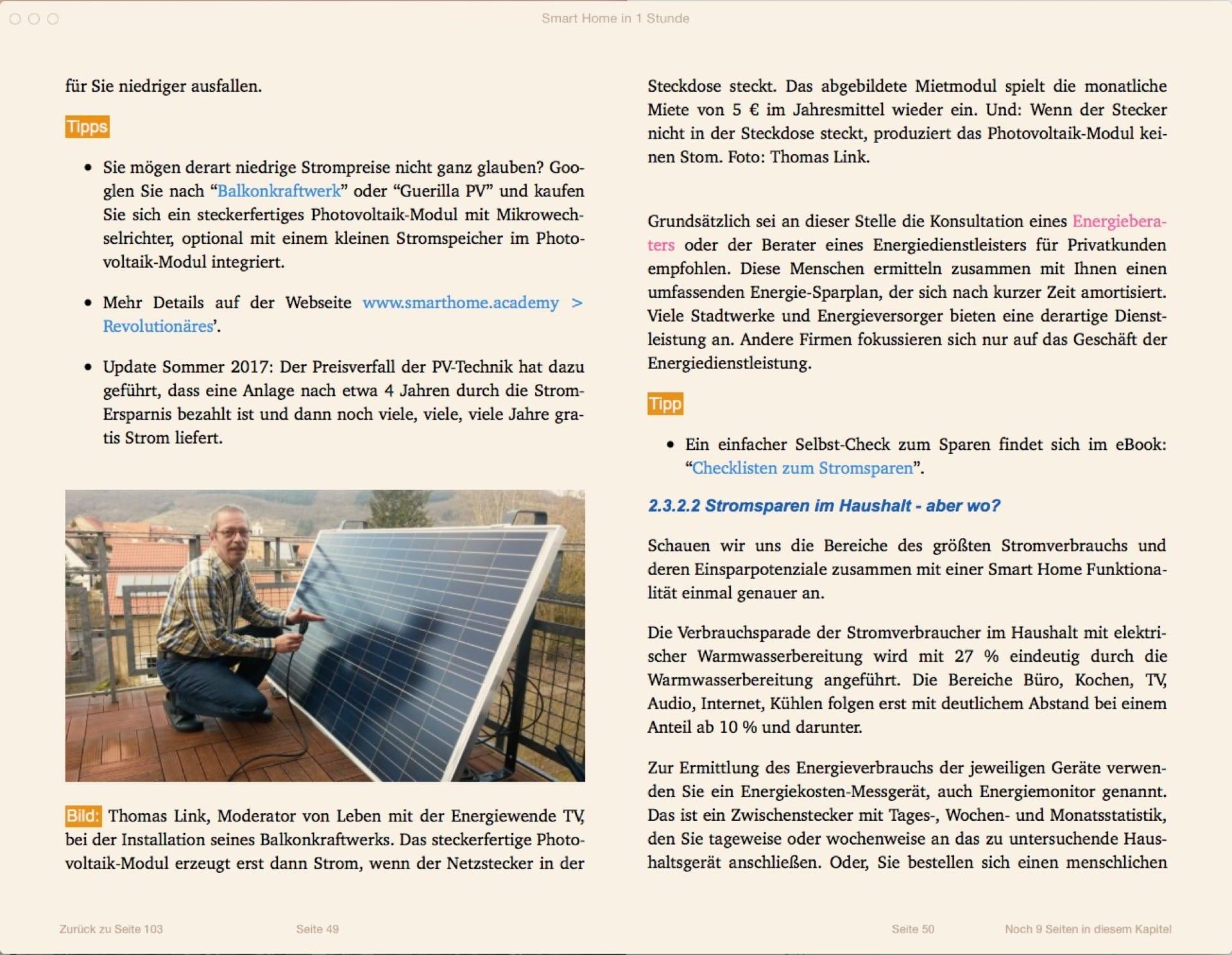 Mit dem Balkonkraftwerk: Strom selber machen. Mini-PV-Anlage für den Balkon - auch Guerilla-PV genannt.