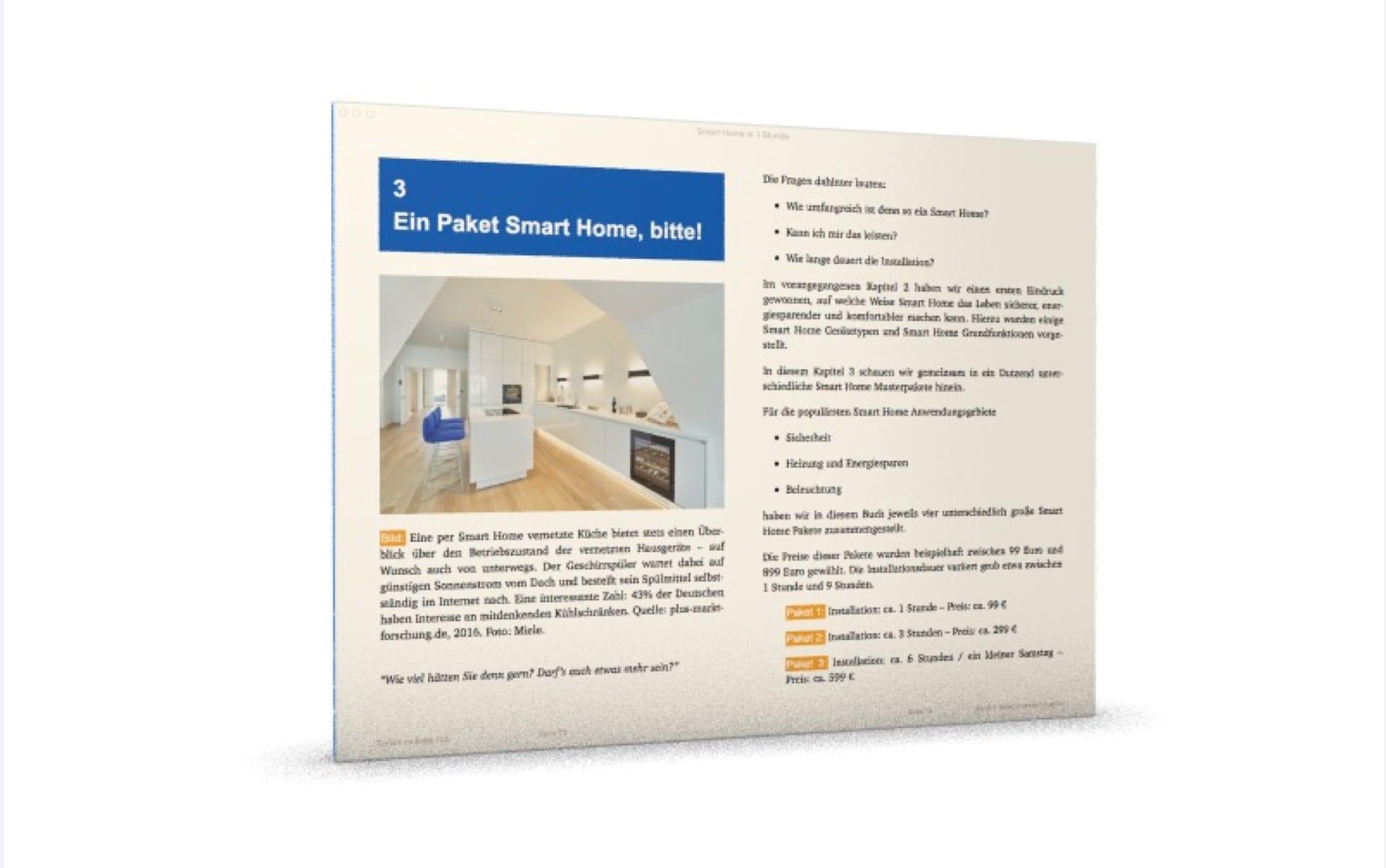 Smart Home in der Küche