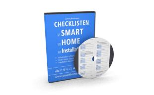 Buch Titel Checklisten-Smart-Home-Installation