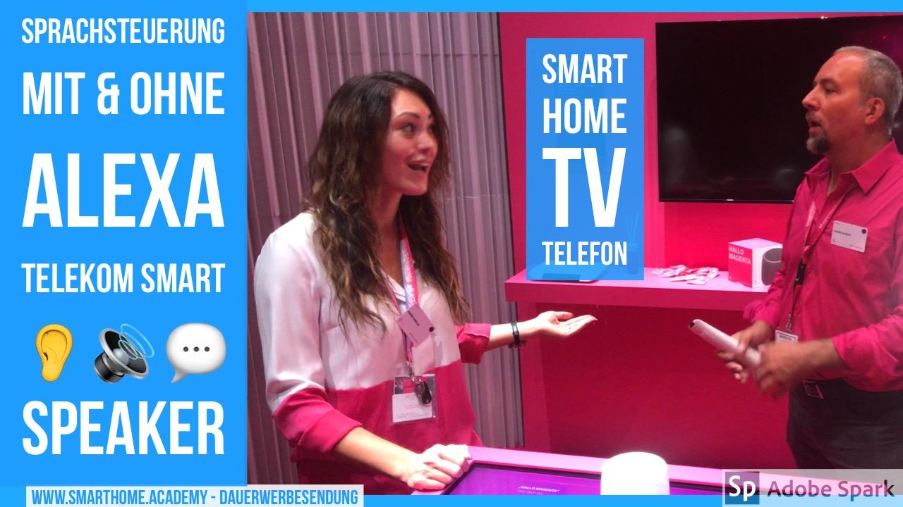 SmartSpeaker Telekom – Sprachsteuerung