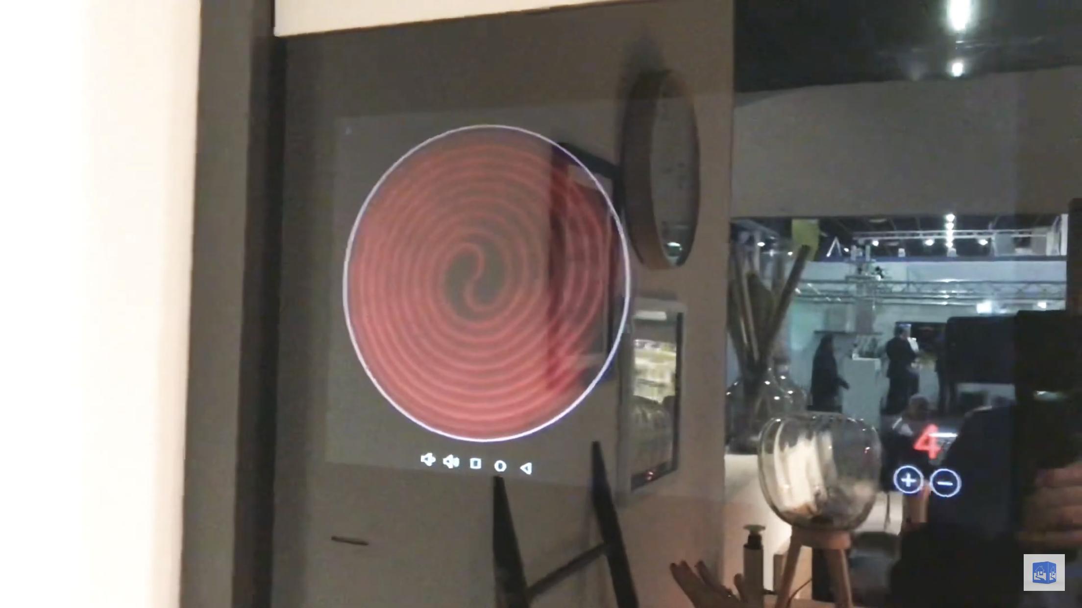 Apps für die Digitale Schranktür auch für 'Vertical Cooking'. Mues-Tec GmbH