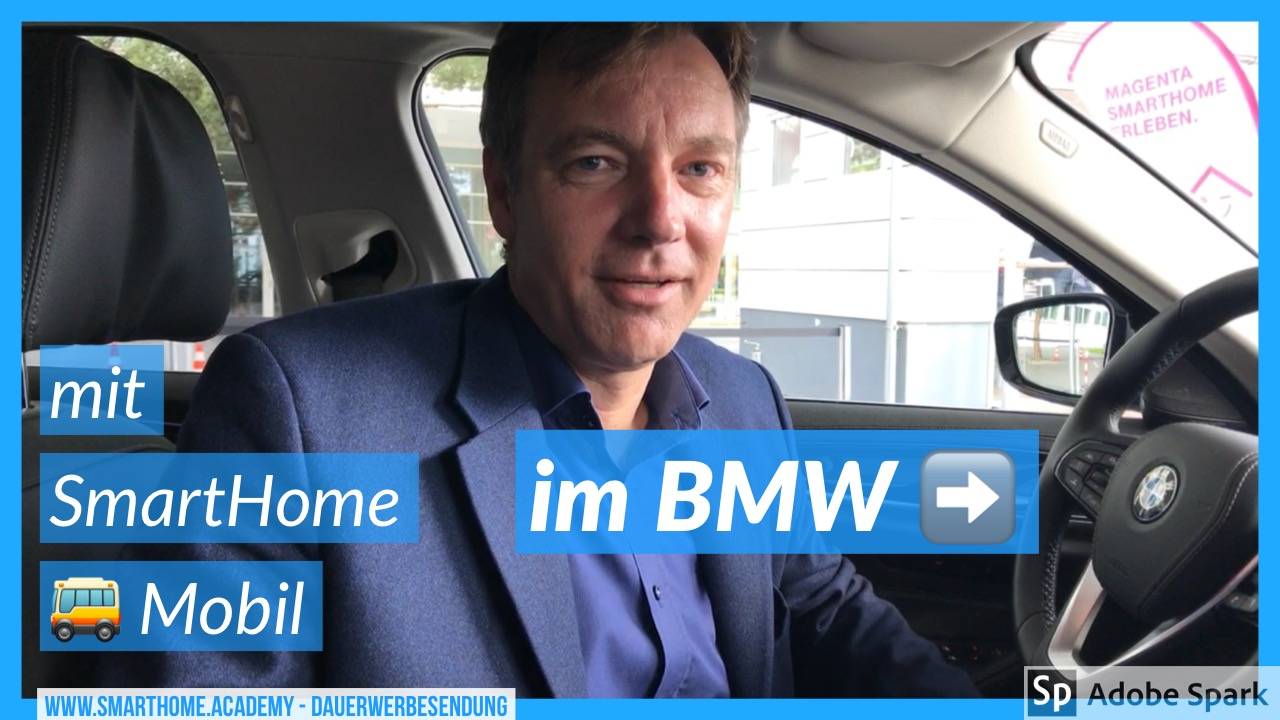Demo: Smart Home im BMW 530e